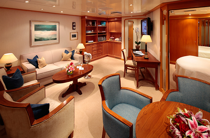 GolfAhoy SeaDream Owners-Suite