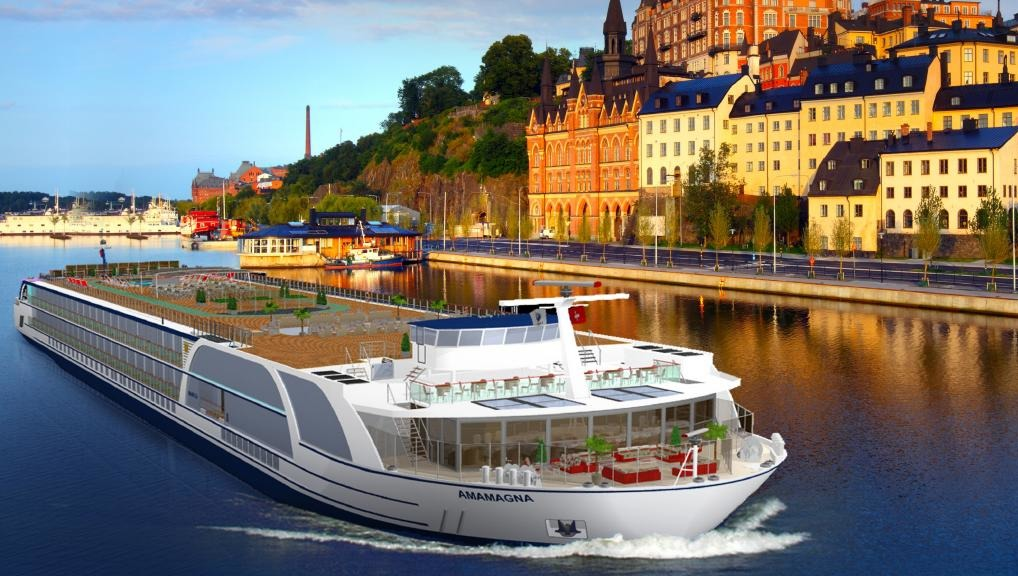 AmaWaterways European River Golf Cruises AmaMagna