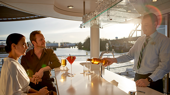 crystal GolfAhoy Danube River Golf Cruise free drinks included
