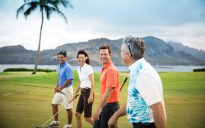 Single golfers Danube golf cruise