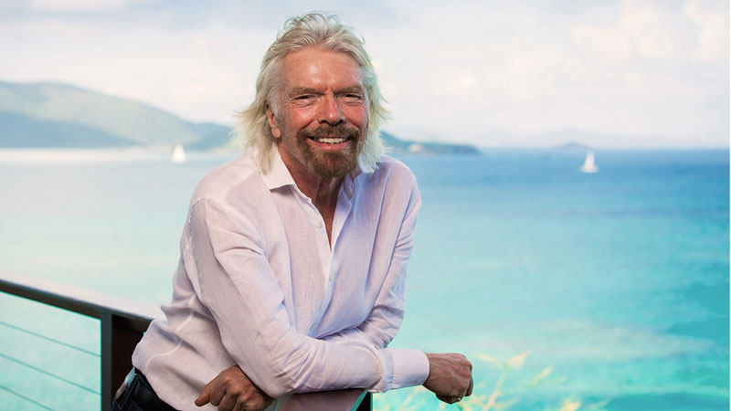 Virgin Voyages Golf Cruises Sir Richard Branson