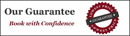 golf ahoy book with confidence guarantee logo