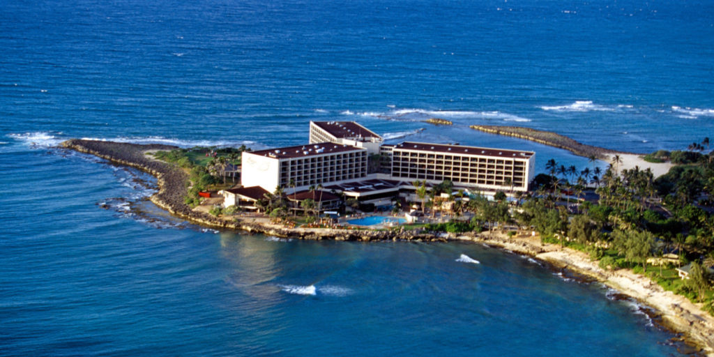photo of Turtle Bay resort in Hawaii.
