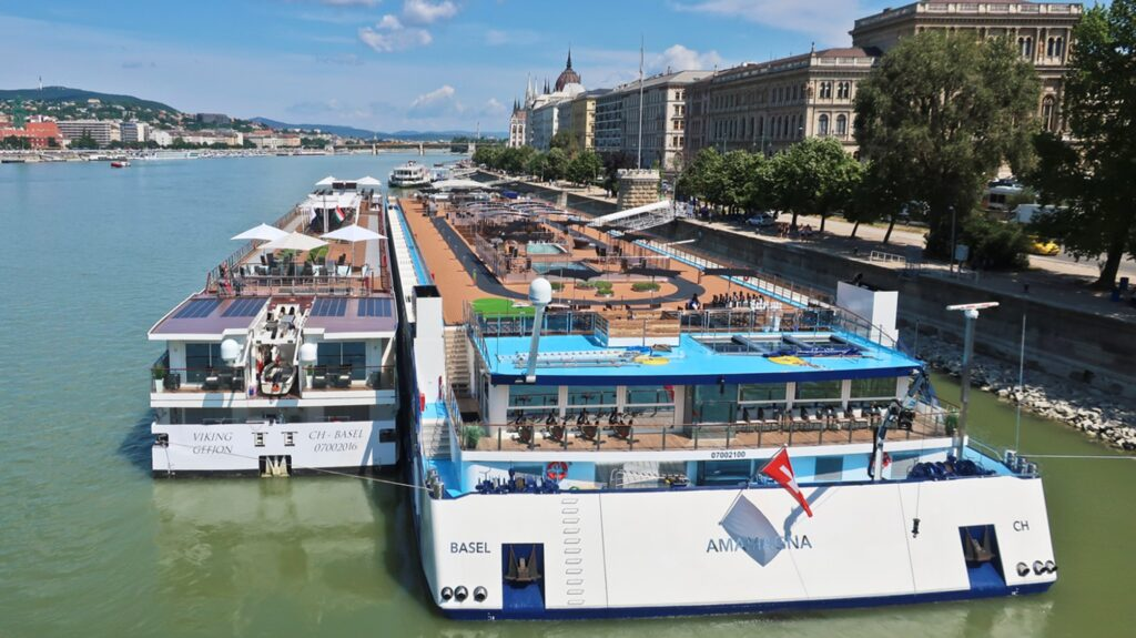 Golf Ahoy Danube River Golf Cruise amamagna riverboat twice the size of other riverboats