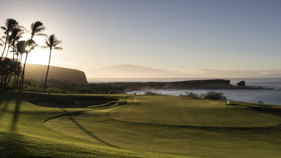 MANELE GOLF COURSE INCLUDED in the GolfAhoy Hawaii Golf Cruise package.