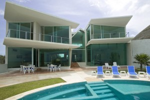 photo of golf course villa rental with swimming pool
