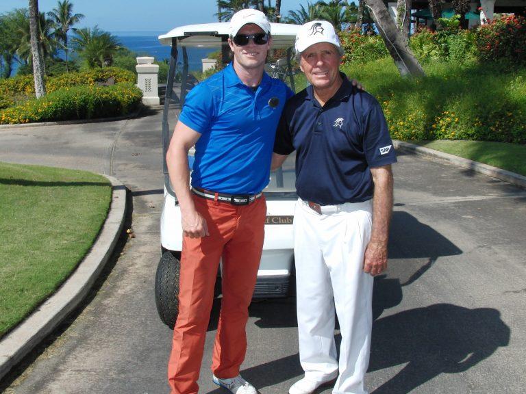 Cory McKim PGA shown with Gary Player PGA