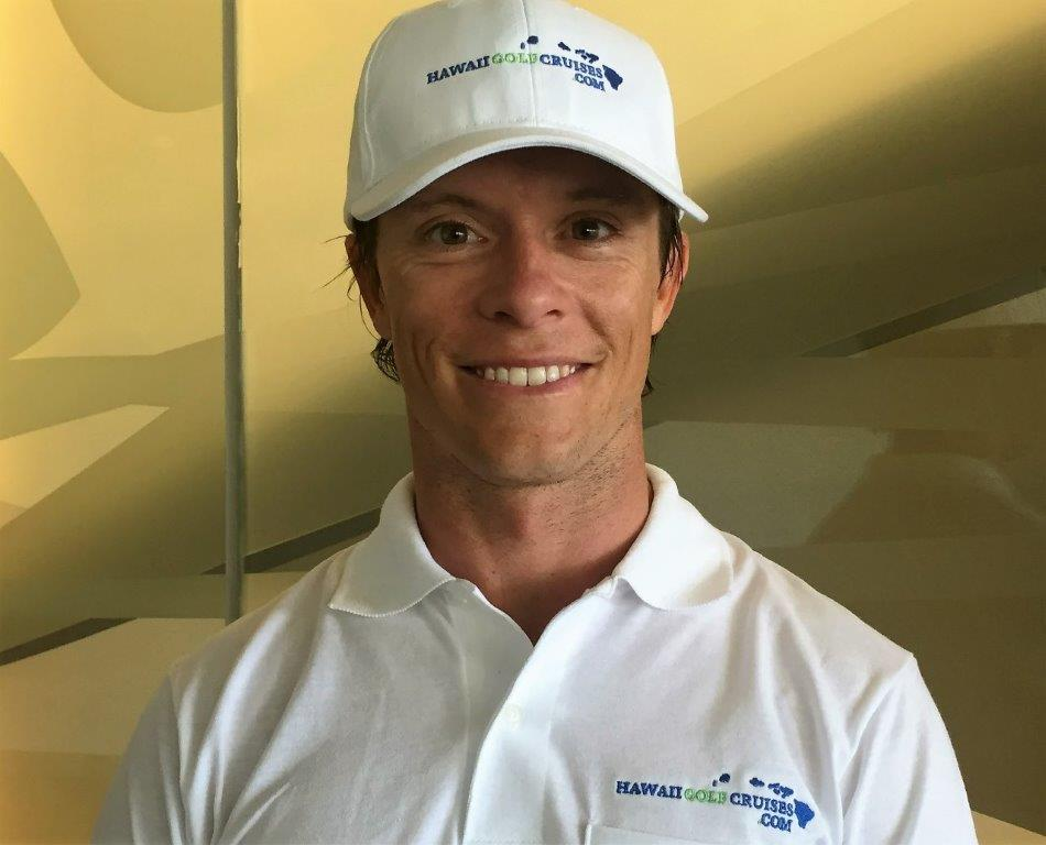 photo of cory mckim pga golf host on hawaii golf cruises