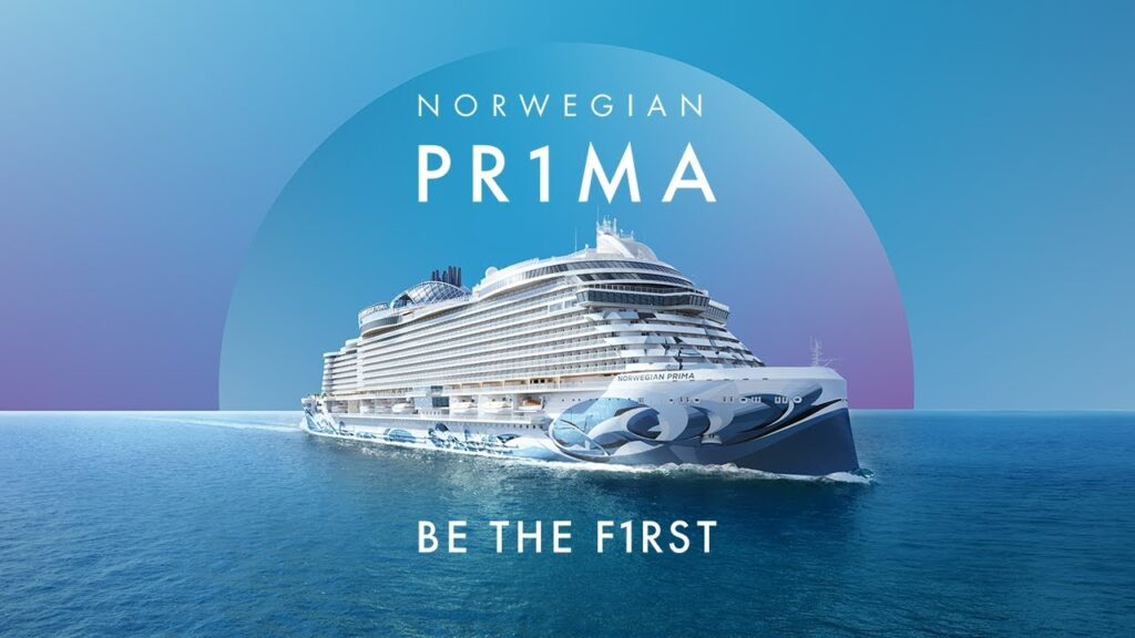 Caribbean GOLF Cruise PRIMA photo of new norwegian cruise line passenger ship the prima