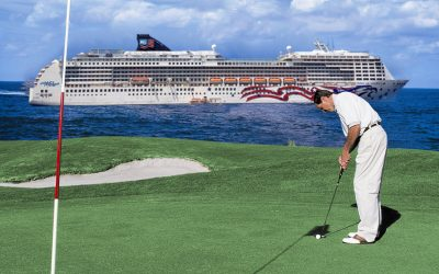 GolfAhoy Putter POA Ship Sea Image